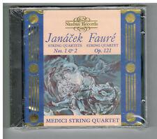 "MEDICI STRING QUARTET ""Janacek and Faure"" brand new promotional CD (Nimbus)"