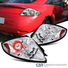 For Mitsubishi 06-11 Eclipse Clear LED Reverse Tail Lights Brake Parking Lamps
