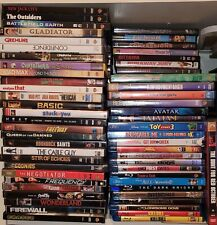 Assorted Dvds and Blurays in Original Cases