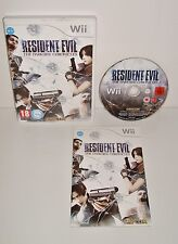 JEU NINTENDO WII RESIDENT EVIL THE DARKSIDE CHRONICLES COMPLET