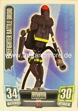 Firefighter Battle Droid #098 - Force Attax Serie 2