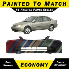 NEW Painted to Match - Front Bumper Cover Replacement For 2001-2003 Honda Civic