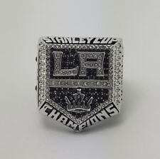 Year 2014 Los Angeles Kings Stanley Cup Championship Copper Ring 8-14Size