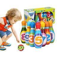 Kids Bowling Play Set, Gift Toys for  2,3,4,5  Year Old Boys Girls Birthday Gift