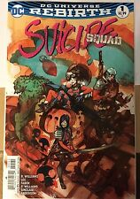 Suicide Squad 1 Dc Rebirth Greg Tocchini Fried Pie Color Variant In Hand