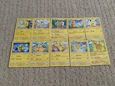 Pokemon Pikachu Card Lot Of (10) Nm/M - Great Gift!