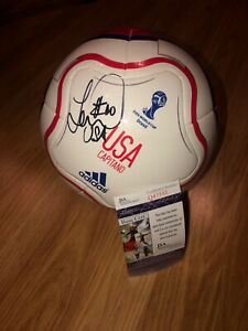 LANDON DONOVAN signed autographed USA soccer ball COA JSA Photo PROOF WORLD CUP