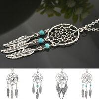 Trendy Retro Dream Catcher Pendant Chain Special Design Necklace Gift