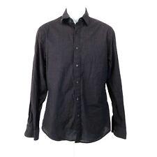 Elie Tahari Mens Long Sleeve Button Down Shirt Small