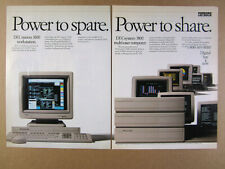 1989 DEC Digital DECstation DECsystem 3100 Computer vintage print Ad