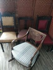 More details for x4 antique chairs for restoration
