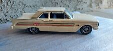 Amt 1960 Mercury Comet custom built model car display or restore