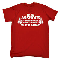 Funny T Shirt Im An Asshole Birthday Joke tee Gift Novelty tshirt T-SHIRT