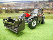 UNIVERSAL HOBBIES MASSEY FERGUSON 9407 TELEHANDLER & BUCKET 2947 1/32 NEW