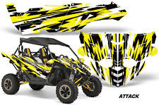UTV Decal Graphic Kit Side By Side Wrap For Yamaha YXZ 1000R 2015-2018 ATTACK Y