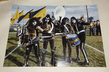 Kiss Paul Ace Frehley Peter Gene Simmons POSTER Sweden Cadillac High School