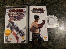 Tekken Dark Resurrection Sony PSP PlayStation Portable Game Boxed & Complete