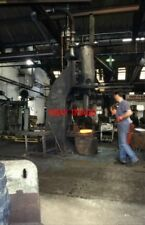 PHOTO  1997 HAMMERING AWAY - HILLFOOT STEEL SHEFFIELD THIS WAS HILLFOOT STEEL (F