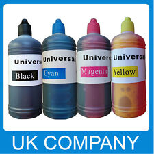 4X100ml Unink Brand Universal Refill Ink Bottle for CISS Refillable Cartridges