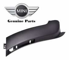 For Mini Cooper S Conv Passenger Right Front Bumper Cover Spoiler 51117130314