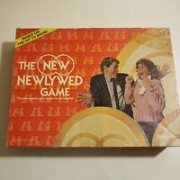 1986 The New Newlywed Game Chuck Barris Pressman Made in USA Couples Complete