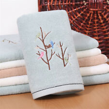 Luxury Embroidery Towels Pure cotton water absorption antibacterial bath towel