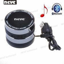 NEVE® Space Black HiFi Wireless Bluetooth 3.0 Speaker For iPhone Samsung iPad