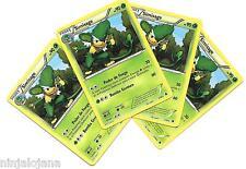 Pokemon 4 SIMISAGE 2/98 Raras x4 Español Hoja RARA