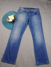 LUCKY BRAND WOMEN'S LIGHT WASH DENIM BOONE EASY RIDER JEANS SIZE 27 1AN27