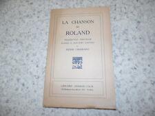1948.la chanson de Roland.Non coupé.traduction Chamard