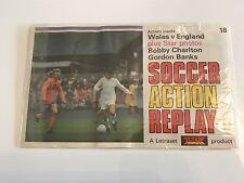 Letraset Action Transfer Replay - England vs Wales - unused - Banks & Charlton