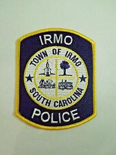 Town of Irmo South Carolina Police Train Transit Locations Iron On Patch