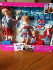 Foreign Boxed Barbie Traveling Sisters Chinese Edition 1995