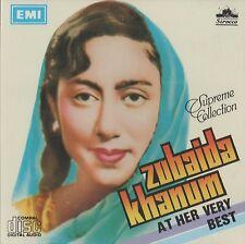 ZUBAIDA KHANUM AT HER VERY BEST - BRAND NEW ORIGINAL CD