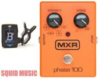 MXR M107 Phase 100 Effects Pedal 10 Stages Of Programmable Phase (GUITAR TUNER)