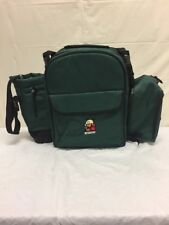 McCarthy Picnic Set Insulated Backpack Cooler Portable Plates Utensils Lunch