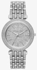 Michael Kors Women's Darci MK3779 Chrystal Glitz Silver Tone Watch