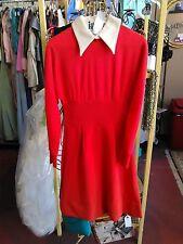 Vintage Jonathan Logan Size 9 36 Bust Knit Mini Dress Very Nice
