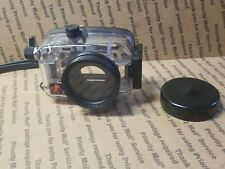 Ikelite Underwater Camera Housing, Clear Lens is in EXCELLENT Condition UC 30711