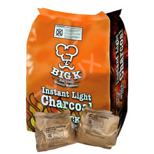 More details for big k instant light lumpwood charcoal, 1,2 & 4x1kg bags instant bbq charcoal