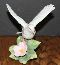 Dove with a Flower Figurine:  Approximately 4 Inches Tall