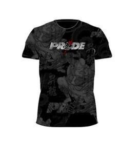 RARE PRIDE FC Shinnen T-shirt UFC Venum MMA Jiu Jitsu Roots Fight WWE Muay Thai