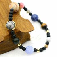 MINIVERSE BRACELET Planets Solar System Stone Gift Jewelry Bangle Theme 70+SOLD