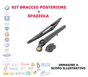 KIT BRACCIO TERGICRISTALLO SPAZZOLA POSTERIORE FIAT IDEA FI0036KR