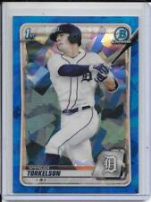 2020 Bowman Chrome Draft Sapphire Spencer Torkelson Refractor Detroit Tigers