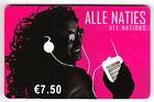 FRANCE TELECARTE / PHONECARD PREPAYEE .. 7€50 ALLE NATIES TOP MUSIC 01/08+N°