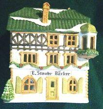 Department 56 Alpine Village ~ E. Staubr Backer ~ 65404 - Pre-Owned
