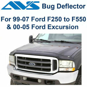 AVS Bugflector II Hood Protector Shield For 99-2007 Ford Excursion F-250 - 45706
