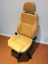 Alfa Romeo Seat Office Chair Leather Height & Tilt Adjustable Genuine 156 TAN
