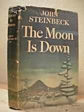 THE MOON IS DOWN Steinbeck HC/DJ 1st Edition 2nd State